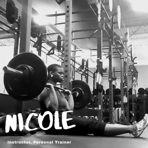 We asked Nicole...  Q: One week without a shower or one week without a workout? A: One week without a workout.  Q: Eat the same food for every meal for one month or eat each of your meals blended for a week? A: Same food, duh. Roasted chicken, jerk chicken, bbq chicken...  Q: Pizza or pasta? A: Neither! Burgers ftw!  Q: Split squats or squat press? A: Split squats.  Q: Pop or oldies? A: Oldies! Sam Cooke anyone?  Q: Hills or sprints? A: Ha! Cardio?! No thank you.  Q: Burpees or deadlifts? A: Deadlifts  Q: Legs and glutes or back and biceps? A: Posterior Chain  Q: Biggest fitness inspiration? A: Ernestine Shepherd  Q: Assault bike sprints or rowing sprints? A: Yuck cardio...well if I had to chose. Rowing sprints  Q: Cauliflower or broccoli? A: Meh...who evens cares, just make sure it has butter on it and we are good to go!