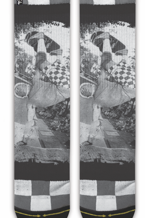 Cab Front Invert Socks by Merge4
