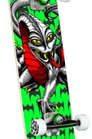 Powell Peralta Cab Dragon - Lime Green Birch Complete Skateboard - 7.5 x 28.65