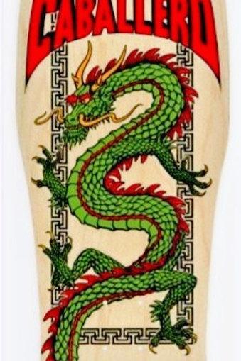 Powell Peralta Steve Caballero Chinese Dragon Natural Skateboard Deck - 10 x 30