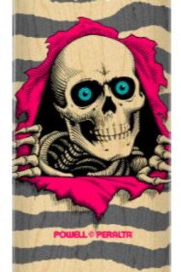Powell Peralta Ripper Skateboard Deck Natural Gray - Shape 243 - 8.25 x 31.95