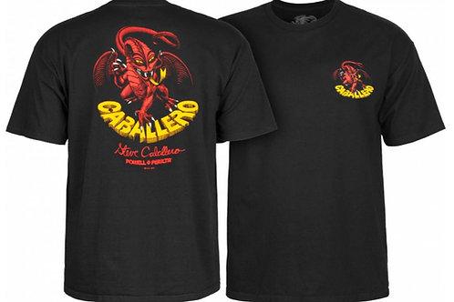 Powell Peralta Steve Caballero Dragon II T-shirt - Black