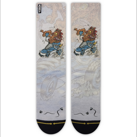 Cab Dragon Socks by Merge4