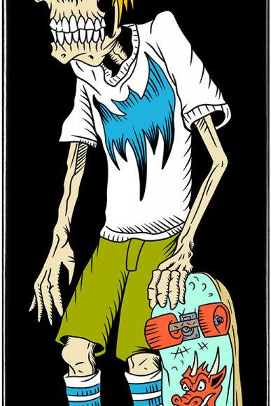 Powell Peralta Pro Steve Caballero Faction Flight® Skateboard Deck