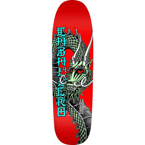 Powell Peralta Caballero Ban This Skateboard Deck Red - 9.375 X 33.875