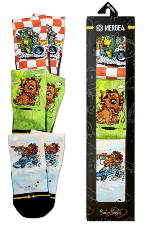 Steve Caballero Baby Sock 3 Pack
