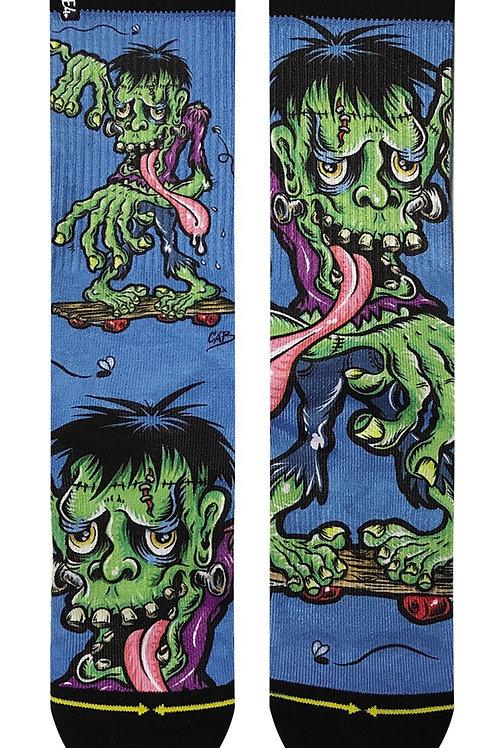Cab Frankenskate Socks by Merge4