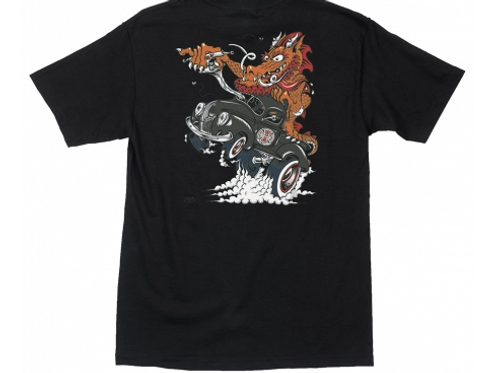 Cab Dragster (Black) S/S Independent Mens T-Shirt