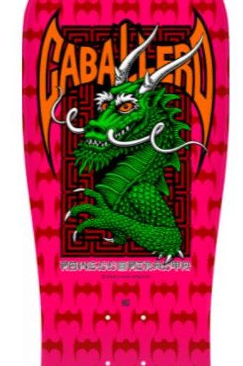 Powell Peralta Pro Steve Caballero Street Skateboard Deck Hot Pink-9.625 x 29.75