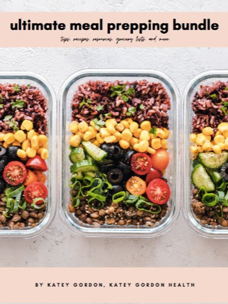 The Ultimate Meal Prep Bundle