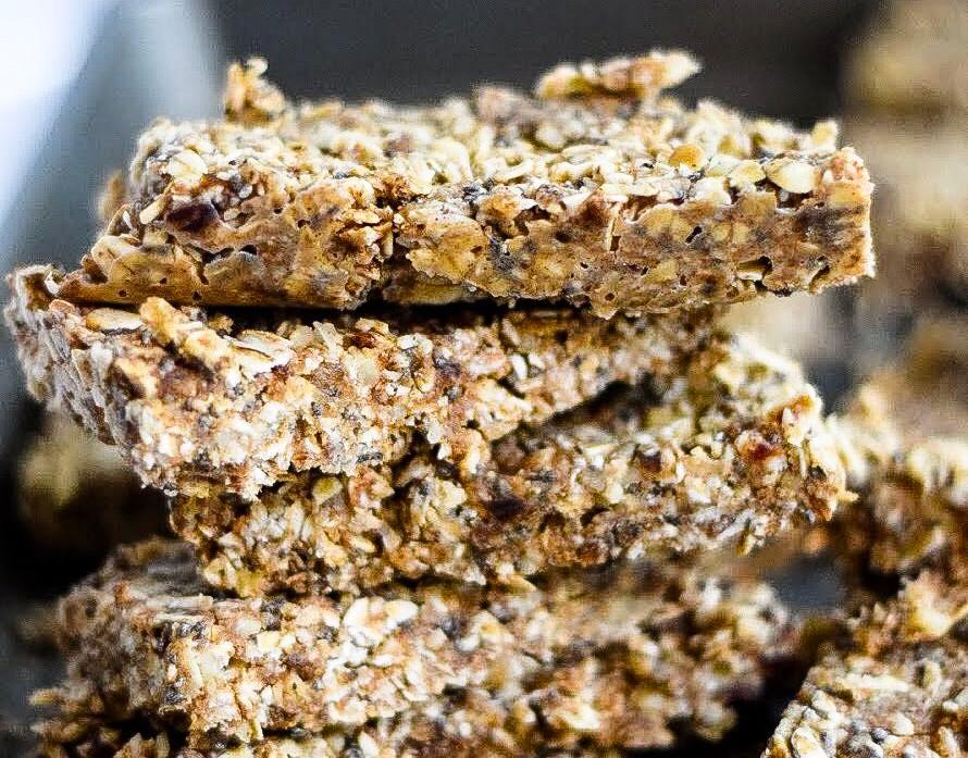 honey oat raw bars