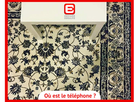 Solution Enigme mobile sur tapis