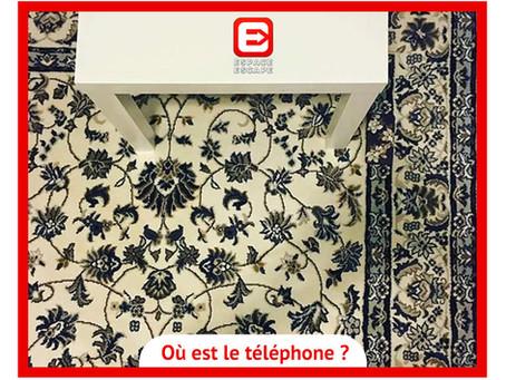 Solution Enigme mobile sur tapis