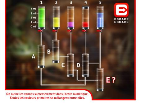 Solution Enigme Potion Magique