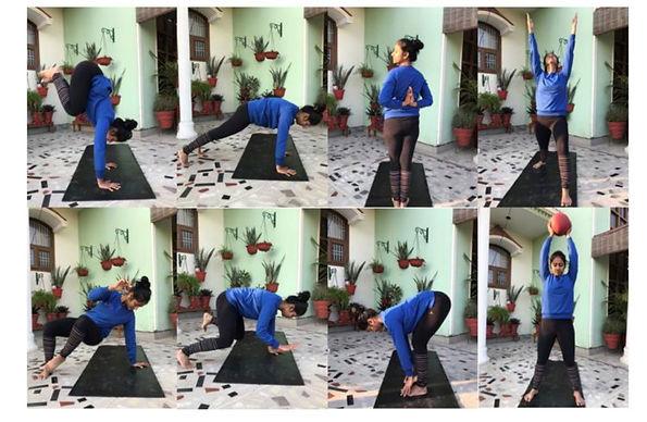 Priyanka doing Primal Movements