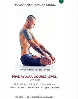 Pranyama Course Level 1