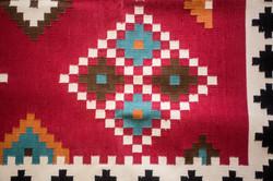 Cotton Dhurrie Closeup