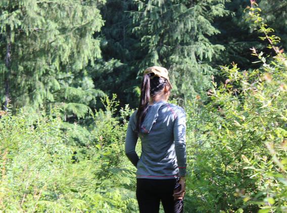 Claire - yogarambha - walking amidst wilderness