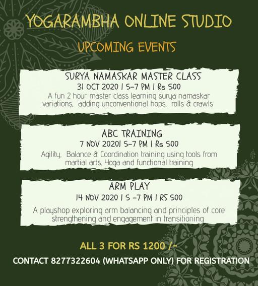 Yogarambha Online Studio