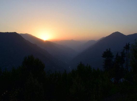 Yogarambha Himalayan Camp -Sunset