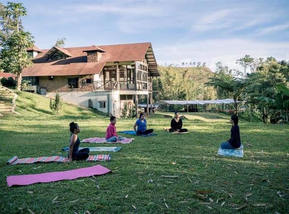 Yoga in the nature - Yogarambha
