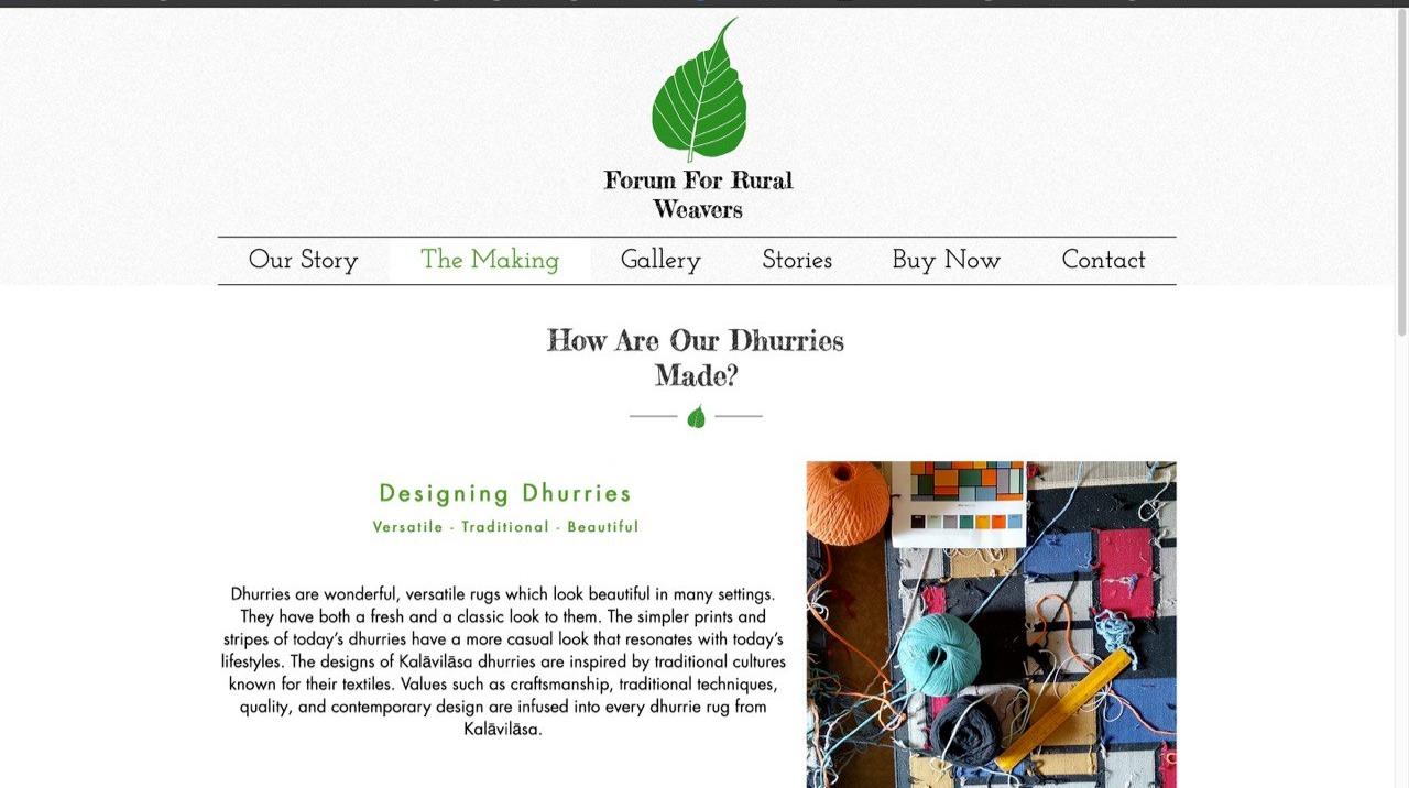 Forum For Rural Weavers