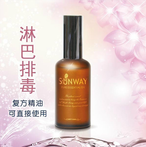 Lymphatic drainage essential oils (50ml)