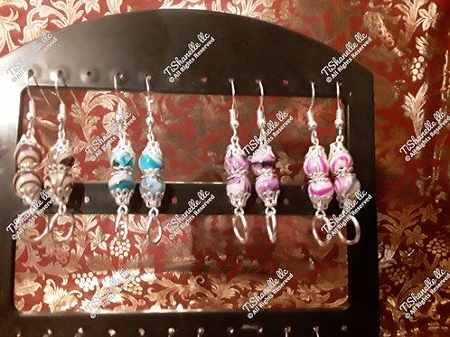 Swinging color earrings