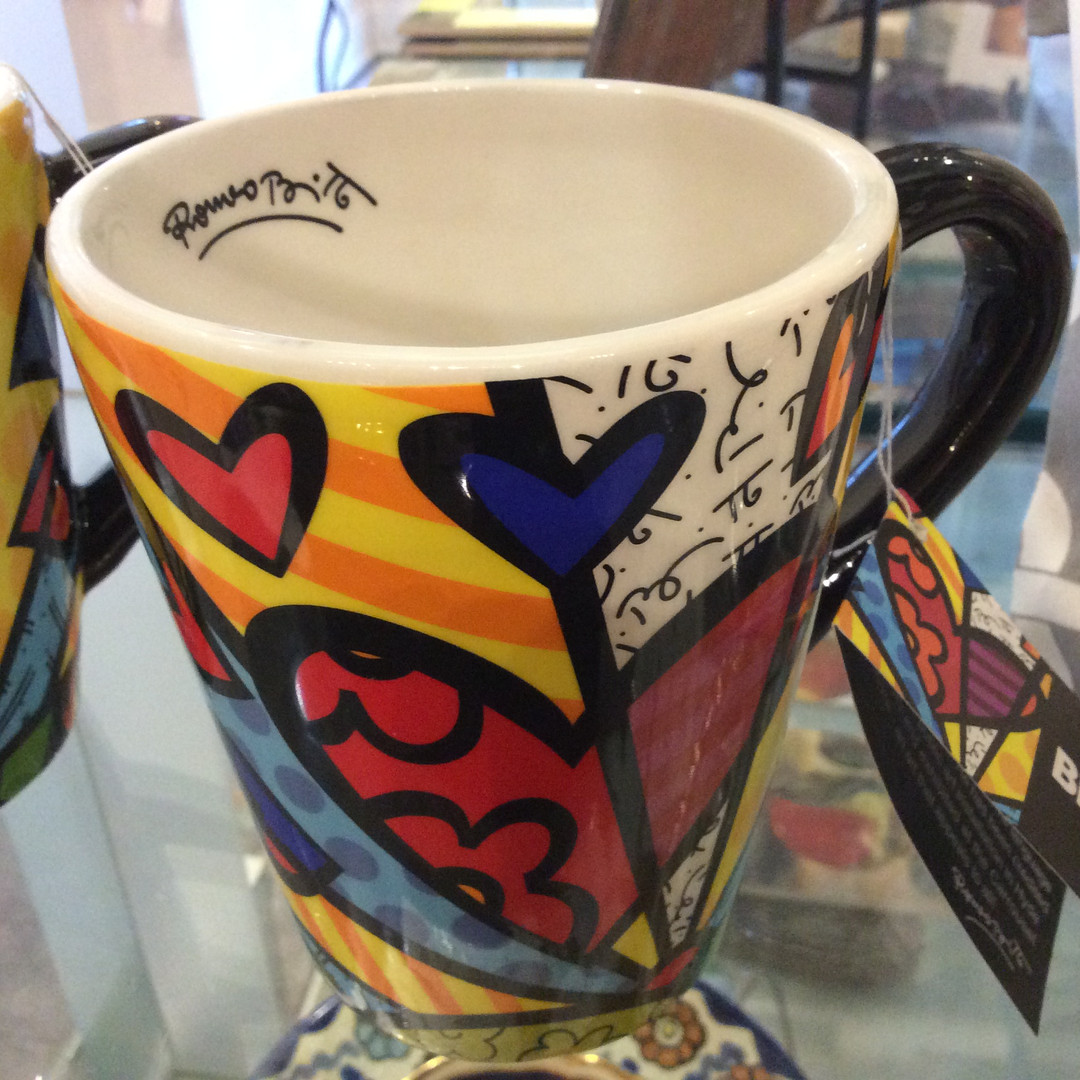 Britto Mug thru Giftcraft
