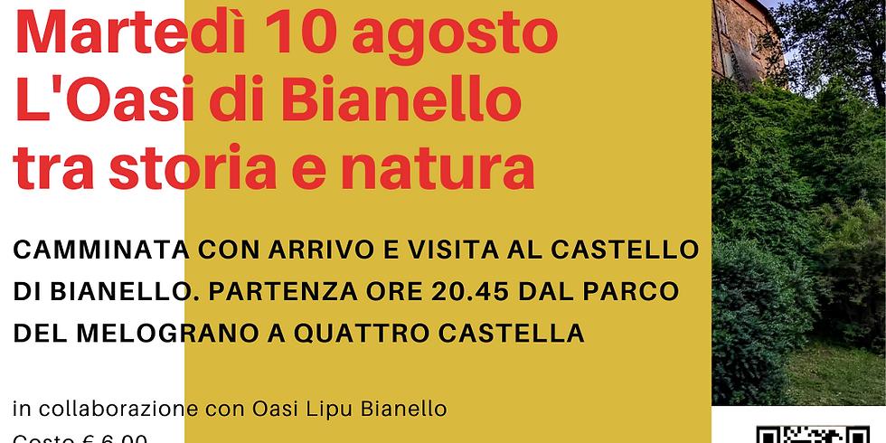 L'Oasi di Bianello tra storia e natura + VISITA AL CASTELLO