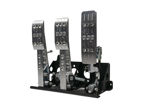 Pro-Race V2 Floor Mounted Bulkhead Fit 3 Pedal System
