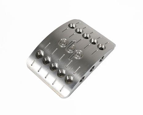 Large (78mm) Brake Pedal Pad Upgrade for Pro-Race V2 and Track-Pro V2