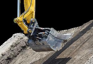 digging slope