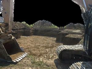 excavator grade assist