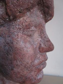 Portret jonge vrouw close-up