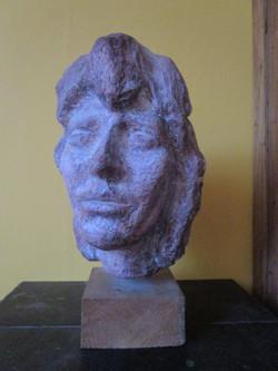 Portret jonge vrouw 36x24cm