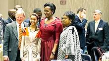 First Lady shares Rwanda's experience at US Prayer Dinner