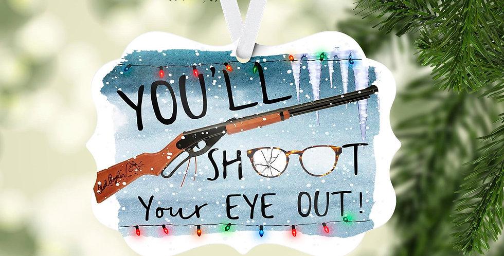 Christmas Story - You'll shoot your eye out - christmas tree ornament - chris...