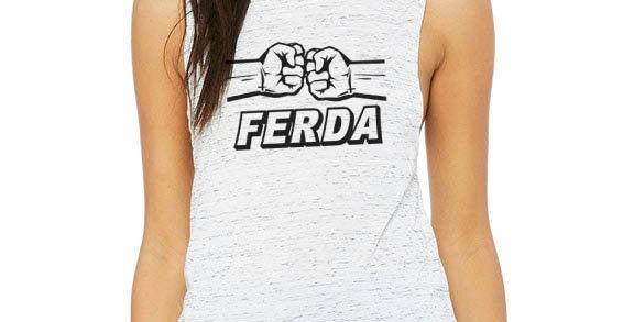 Letterkenny Ferda tank - feminine flowy muscle tank - machine washable - prin...