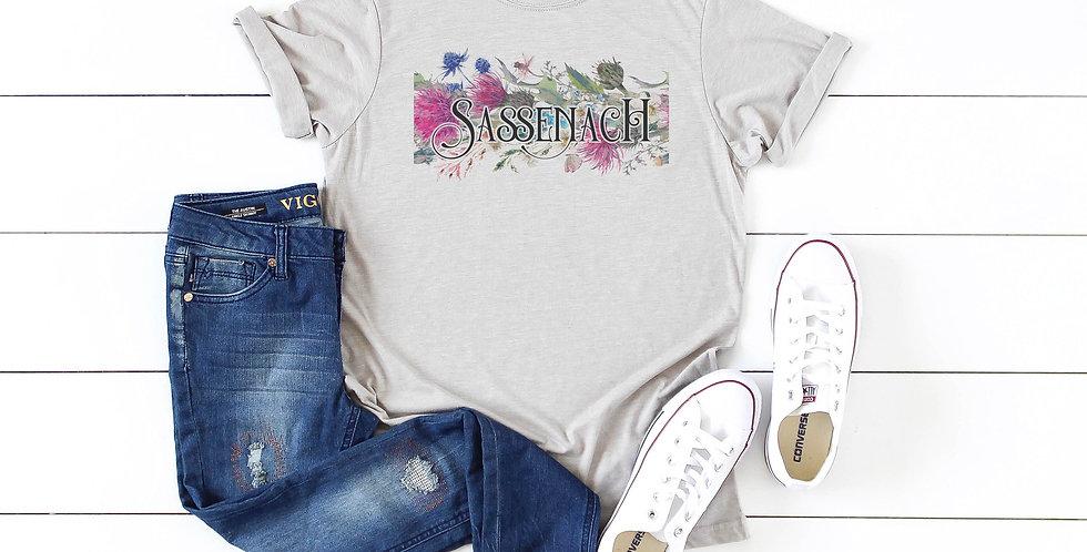 Outlander Sassenach inspired shirt - crew neck tee - unisex sizes - machine w...