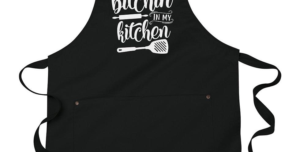 Funny apron - No bitchin' in my kitchen - machine washable - perfect housewar...