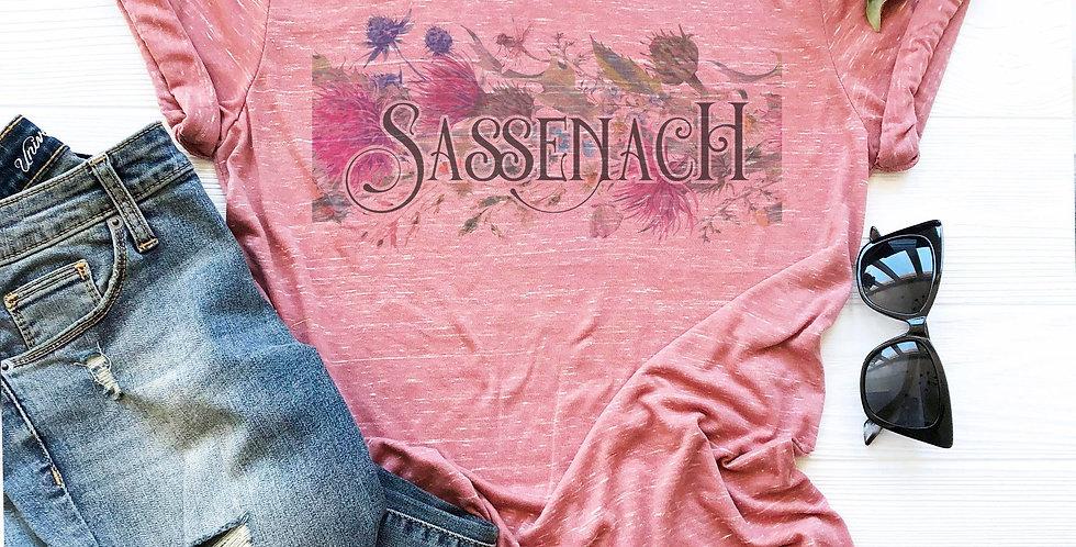 Sassenach - crew neck tee - sizes xs - 2xl - vintage feel shirt - unisex fit ...