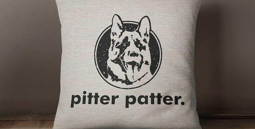 Letterkenny - pitter patter - fiber arts - home textiles - machine washable -...