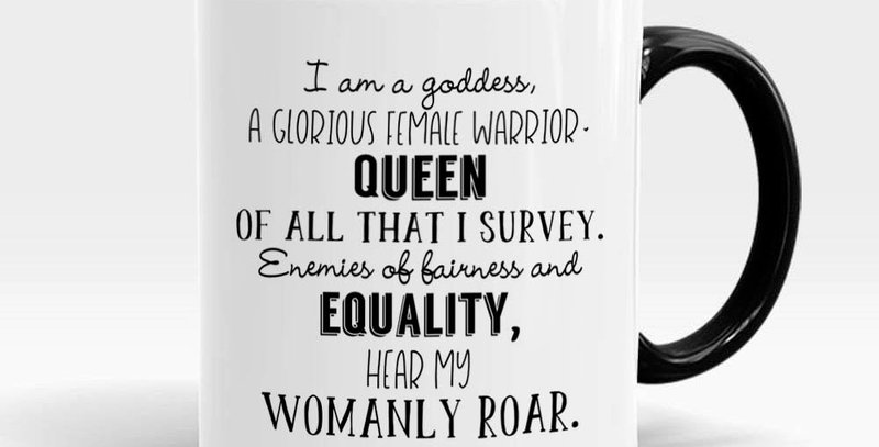 Pawnee Goddesses Parks and Rec quote mug