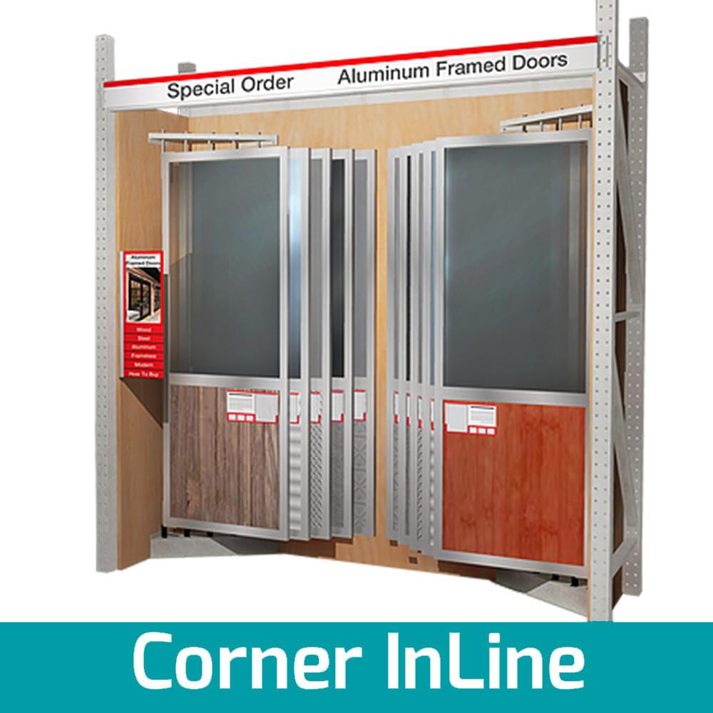 pivoting door display for showroom