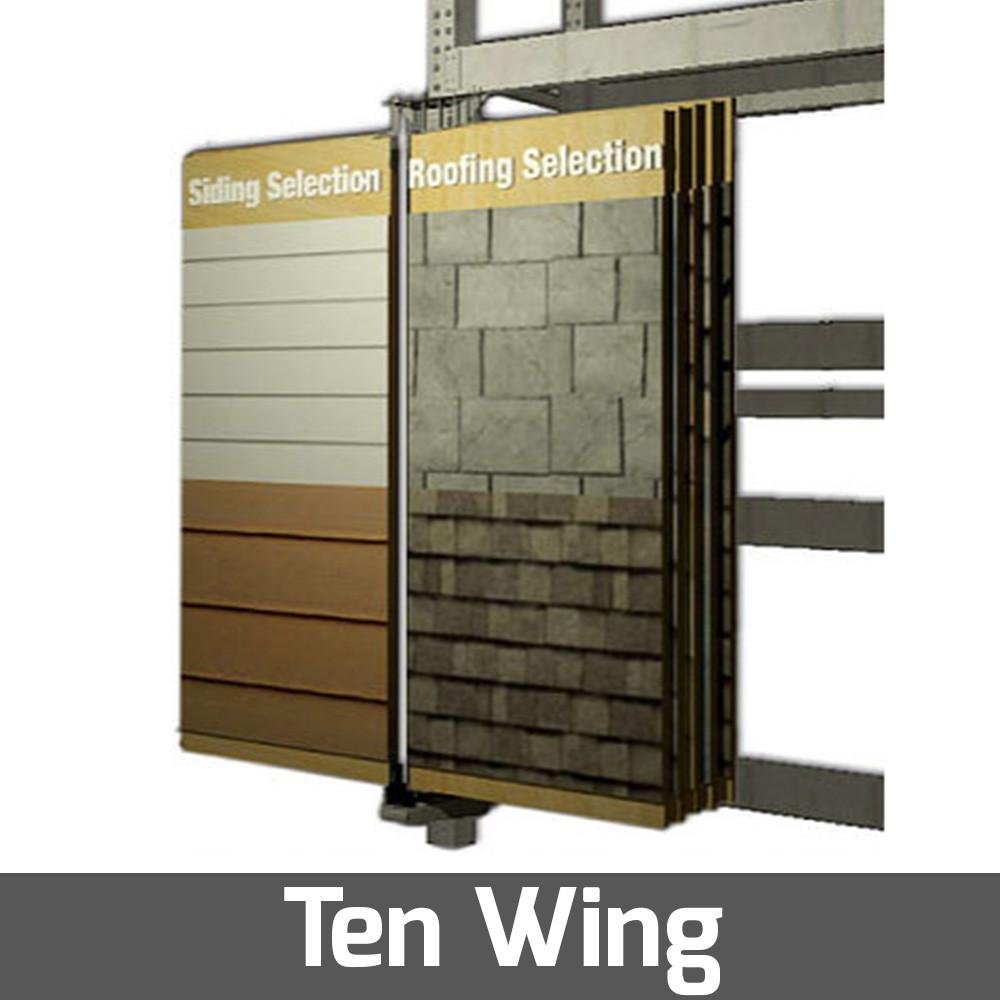 10 doors display pivoting system strath elgin