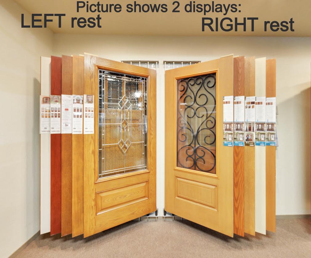door display wall mount