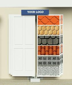 wall-mount door displays