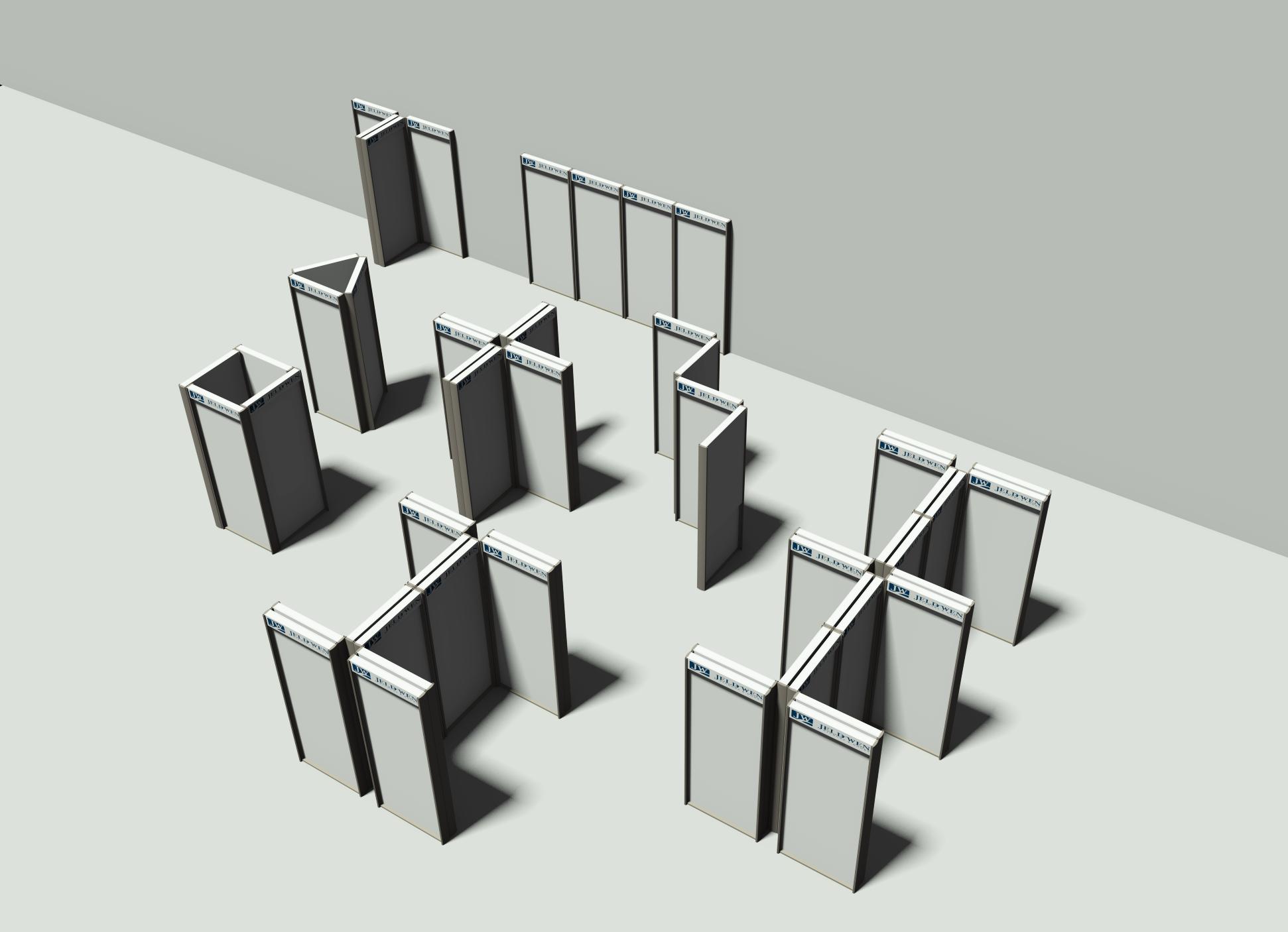 modular display system retail