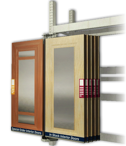 door displays & merchandising displays